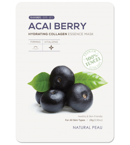 ACAI BERRY Hydrating Collagen Essence Mask