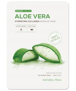 ALOE VERA Hydrating Collagen Essence Mask
