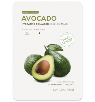 AVOCADO Hydrating Collagen Essence Mask