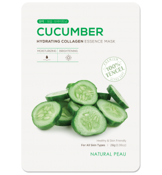 CUCUMBER Hydrating Collagen Essence Mask
