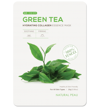 GREEN TEA Hydrating Collagen Essence Mask