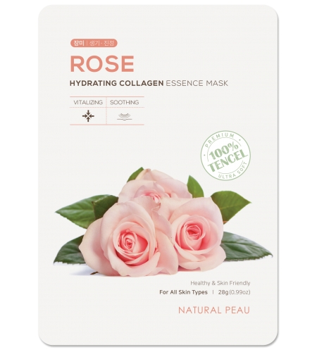 ROSE Hydrating Collagen Essence Mask